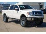 2011 White Platinum Metallic Tri-Coat Ford F150 Lariat SuperCrew 4x4 #57354766