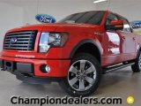 2011 Race Red Ford F150 FX4 SuperCrew 4x4 #57354765