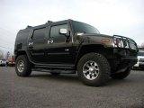 2003 Black Hummer H2 SUV #57355643