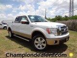 2011 Oxford White Ford F150 Lariat SuperCrew 4x4 #57354759