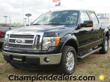 2011 Ebony Black Ford F150 Lariat SuperCrew 4x4 #57354758