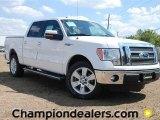 2011 White Platinum Metallic Tri-Coat Ford F150 Lariat SuperCrew #57354757