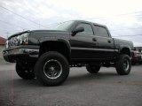 2005 Black Chevrolet Silverado 1500 Z71 Crew Cab 4x4 #57355640