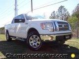 2011 White Platinum Metallic Tri-Coat Ford F150 Lariat SuperCrew 4x4 #57354756