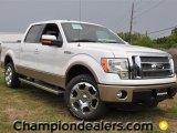 2011 White Platinum Metallic Tri-Coat Ford F150 Lariat SuperCrew 4x4 #57354755