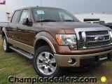 2011 Golden Bronze Metallic Ford F150 Lariat SuperCrew 4x4 #57354754