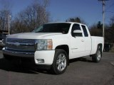 2008 Summit White Chevrolet Silverado 1500 LT Extended Cab #57355638