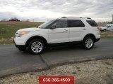 2011 White Platinum Tri-Coat Ford Explorer XLT 4WD #57355636