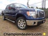 2011 Dark Blue Pearl Metallic Ford F150 XLT SuperCrew #57354748