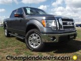2011 Sterling Grey Metallic Ford F150 Lariat SuperCrew 4x4 #57354737