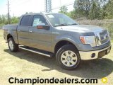 2011 Sterling Grey Metallic Ford F150 Lariat SuperCrew 4x4 #57354735