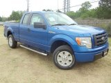 2011 Blue Flame Metallic Ford F150 STX SuperCab #57354731