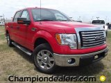 2011 Race Red Ford F150 XLT SuperCrew #57354723