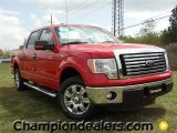 2011 Race Red Ford F150 XLT SuperCrew #57354717