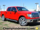 2011 Race Red Ford F150 XLT SuperCrew #57354713