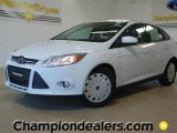 2012 Oxford White Ford Focus SE SFE Sedan #57355105