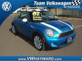 2007 Laser Blue Metallic Mini Cooper S Hardtop #57355549