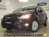 2012 Tuxedo Black Metallic Ford Focus SE SFE Sedan #57355104