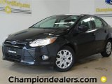 2012 Tuxedo Black Metallic Ford Focus SE Sedan #57355100