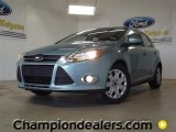 2012 Frosted Glass Metallic Ford Focus SE 5-Door #57355099