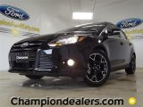 2012 Black Ford Focus Titanium Sedan #57355098
