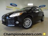 2012 Black Ford Focus SEL Sedan #57355097