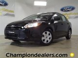 2012 Black Ford Focus S Sedan #57355092