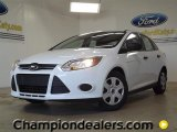 2012 Oxford White Ford Focus S Sedan #57355090
