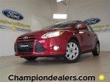 2012 Red Candy Metallic Ford Focus SE 5-Door #57355084
