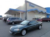 2001 Chrysler Sebring Shale Green Metallic