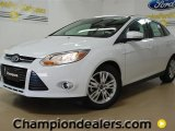 2012 Oxford White Ford Focus SEL Sedan #57355082