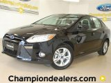 2012 Black Ford Focus SE Sport Sedan #57355081