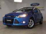 2012 Blue Candy Metallic Ford Focus SE Sport 5-Door #57355080