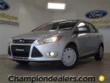 2012 Ingot Silver Metallic Ford Focus SE SFE Sedan #57355072