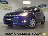 2012 Sonic Blue Metallic Ford Focus SE 5-Door #57355071