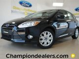 2012 Black Ford Focus SE 5-Door #57355068