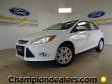 2012 Oxford White Ford Focus SE 5-Door #57355067