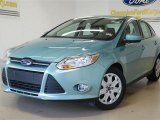 2012 Frosted Glass Metallic Ford Focus SE Sedan #57355066