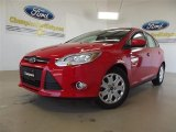 2012 Race Red Ford Focus SE 5-Door #57355065