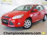 2012 Race Red Ford Focus SE 5-Door #57355064