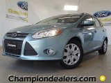 2012 Frosted Glass Metallic Ford Focus SE 5-Door #57355063