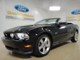 2011 Ebony Black Ford Mustang GT Premium Convertible #57354633