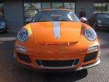 2011 Porsche 911 Custom Orange