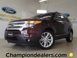 2012 Cinnamon Metallic Ford Explorer XLT #57355015