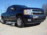 2009 Imperial Blue Metallic Chevrolet Silverado 1500 LT Extended Cab #57355383