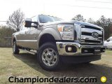 2012 Pale Adobe Metallic Ford F250 Super Duty Lariat Crew Cab 4x4 #57354967