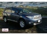 2012 Shoreline Blue Pearl Toyota Highlander SE 4WD #57354538
