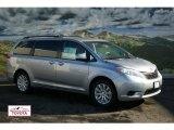 2012 Silver Sky Metallic Toyota Sienna LE AWD #57354536