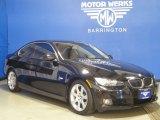 2007 Black Sapphire Metallic BMW 3 Series 328xi Coupe #57440203
