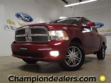 2009 Inferno Red Crystal Pearl Dodge Ram 1500 Sport Crew Cab #57440236
